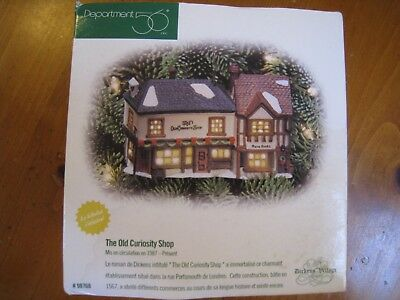 Department 56 Dickens' Village Lighted Ornament ~The Old Curiosity Shop 98768