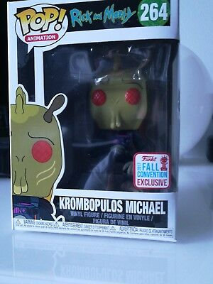 krombopulos michael funko Rick and morty