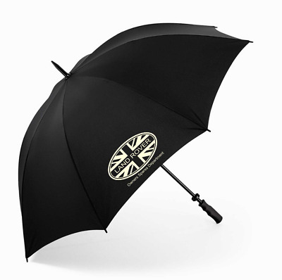 Land Rover Owners Spares Department Golf Umbrella - Black