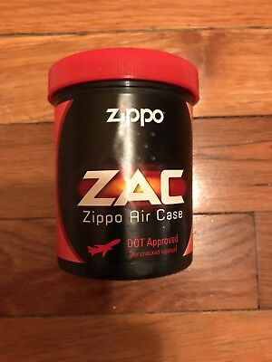 Zippo Air Case DOT Approved ZAC  Holds 2 Lighters     Discontinued
