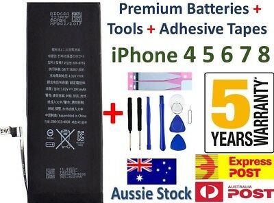 For iPhone 4 5 6 6 Plus 6s 6s Plus Brand BRAND NEW Internal Battery Replacement