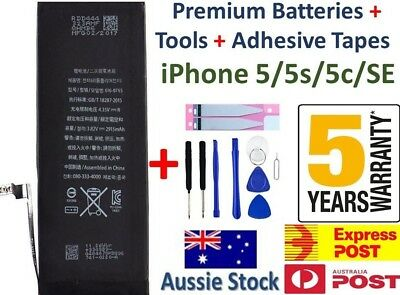 For iPhone 5 5s 5c 5SE New GENUINE FAST CHARGING Internal Battery Replacement