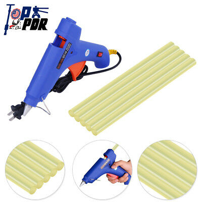 6x Paintless Dent Repair Glue Gun+Hot Glue Sticks PDR Tools Dent Removal Kit Set
