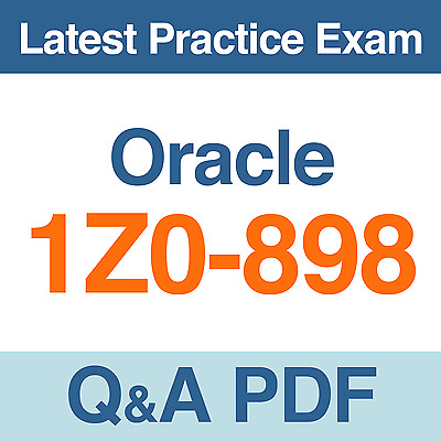 Oracle Practice Test 1Z0-898 Exam Q&A