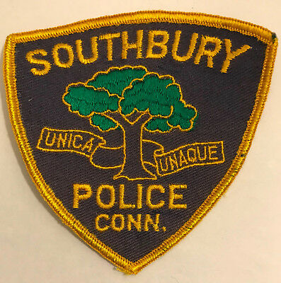 Southbury Connecticut CT Police Sheriff Patch