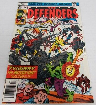 Defenders #59 (1978) Marvel Comics High Grade NM 9.6 Bronze Age CH028