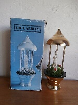Superb Vintage Figural Rain Lamp By Picadilly In Box - Circa 1970S/80S