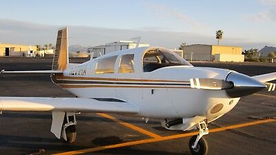 1977 Mooney 201 M20J Low Time Airframe, Engine and Prop