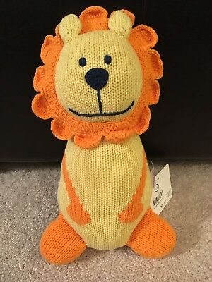 NWT Hanna Andersson lion baby soft toy