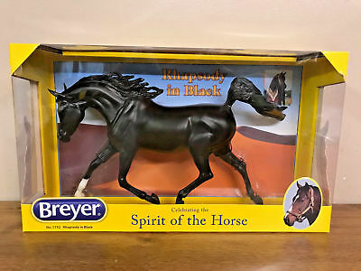 Breyer 1752 Rhapsody In Black Arabian Horse Traditional Series 1:9 Scale New