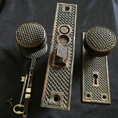Antique Collectible Russell & Erwin Co.  Door Lock  Pat. May 17/1887