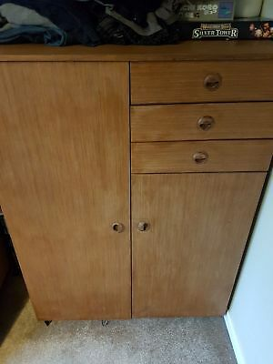 Gentleman's Vintage Used Wardrobe -  Suitable Craft Project for someone