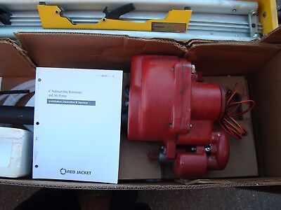 Red Jacket Submersible Turbine Pump