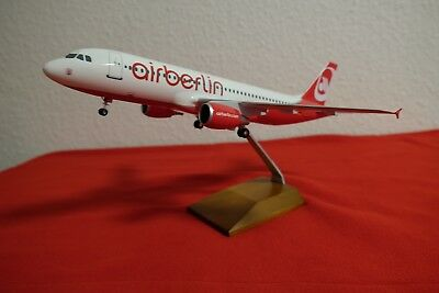airberlin A320-200 One World LIMOX - NEU + OVP - Air Berlin D-ABFP, Art.Nr. LS35