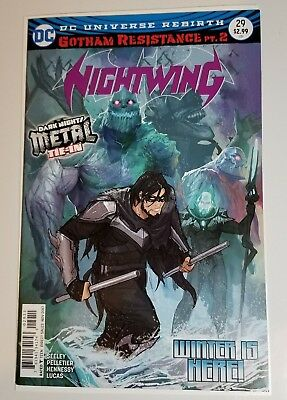 NIGHTWING #29 COVER A DC Comics 2017 First Print HOT! DARK NIGHTS METAL TIE-IN