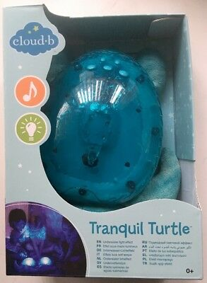 Turtle Cloud B Tranquil Turtle Aqua Baby Night Light Plush Toy