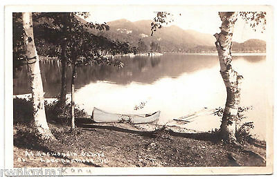 AK US USA Post Card Foto Lake Dunmore Middleburry ungelaufen 1930