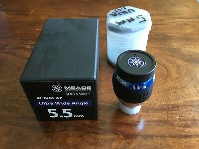 "Meade Ultra Wide Angle 5.5mm (1.25"") Eyepiece (07740)"