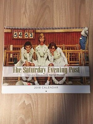 2018 Saturday Evening Post Wall Calendar [Illustrations By Norman Rockwell]