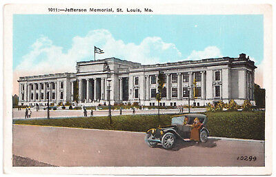 AK US USA Post Card Jefferson Memorial ST. LOUIS ungelaufen v. 1945