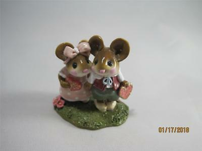 Wee Forest Folk Young Love Pink and Green - WFF Box - Valentine's WFF