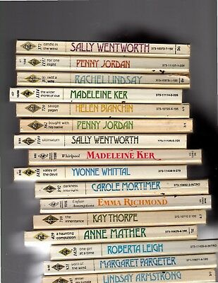 LOT OF 17 HARLEQUIN ROMANCE PAPERBACK books FREE SHIPPING
