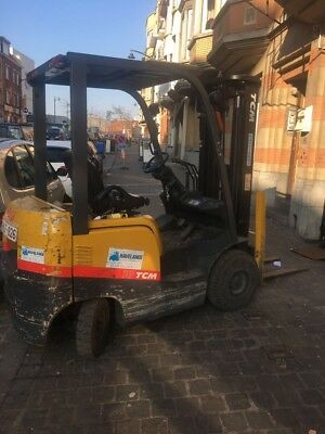 TCM Forklift for sale, second hand, diesel, 7 years old. Will deliver. £8,500