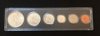 1967 Canadian Silver Dollar Proof Set In Whitman Plastic Holder