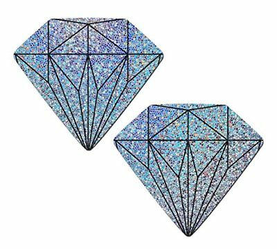 Pastease Diamond Wedding Nipple Pasties Cover  ~ 1 pair