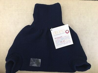 Disana Organic Wool DiaperCover Soakers Shorties Overpants Size 98/104 2-3 yrs