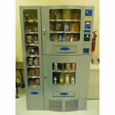 Beautiful Seaga OFFICE DELI Vending Machine COMBO SODA / SNACK  Food Truck