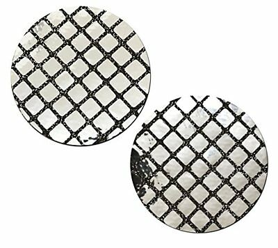 Pastease Silver Disco Ball Circle Pasties Cover  ~ 1 pair