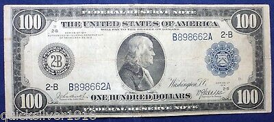 1914 $100 Federal Reserve Bank Note