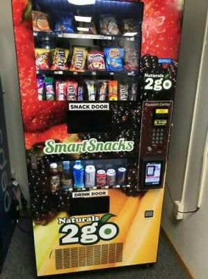 Beautiful Seaga Vending Machine Healthy You COMBO SODA / SNACK  Food Truck