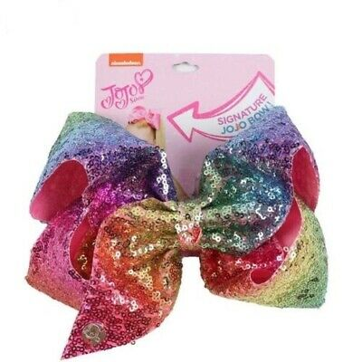 JoJo Siwa Signature Large Rainbow Hair Bow