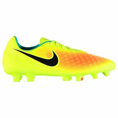 Nike Magista Onda FG Firm Ground Football Boots Mens Yel/Blk Soccer Cleats Shoes