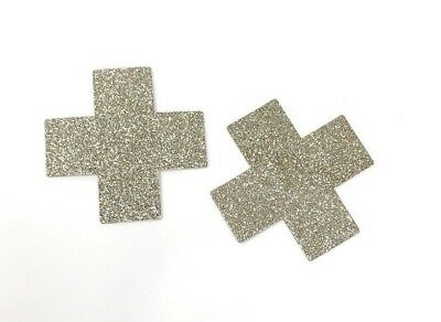 Pastease Gold Glitter Pasties Cover  ~ 1 pair