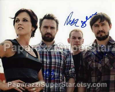 The Cranberries band signed 8x10 Autograph Photo RP - 90's Rock - ZOMBIE - R.I.P