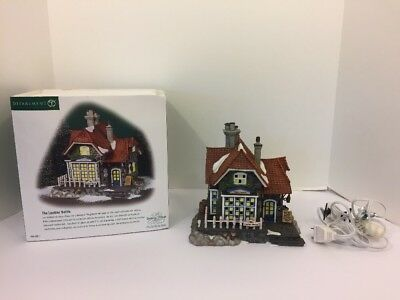 Department 56 Dickens Village The Leather Bottle 56.58511 EUC Box