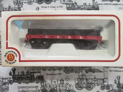 HO Scale Central Pacific Old Timer Gondola by Bachmann