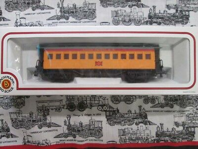 HO Scale Union Pacific Old Timer Coach Passenger Car #7 by Bachmann