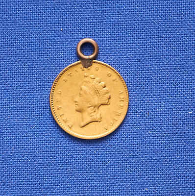 1855 Gold Dollar w/ Loop. No Reserve.