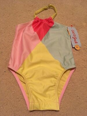 BNWT Girls Swimsuit Cat And Jack Size 2T Pink