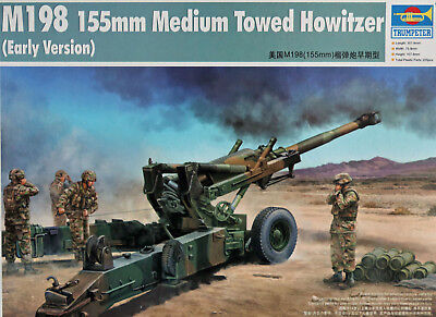 "TRUMPETER 02306 ""M198 155mm Medium Towed Howitzer (Early Version)"" in 1:35"