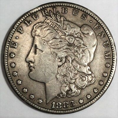 1883-CC Morgan Silver Dollar Beautiful High Grade Coin Rare Date