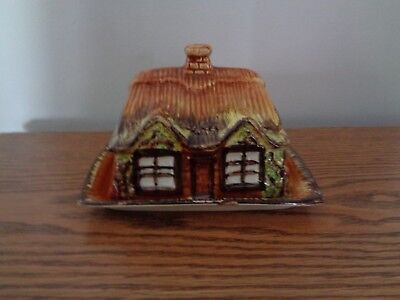Vintage Price Kensington Cottage Ware Butter Dish with Lid, Made in England