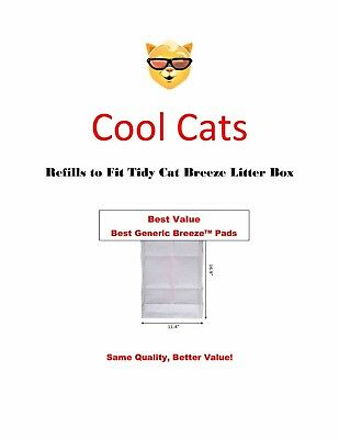"""EZ Cat Generic Replacement Pads for Litter Box System 16.9/"""" x11//4/"""" Free Samples"""