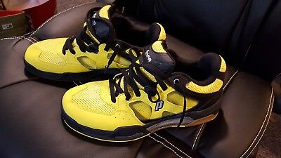 Prince NFS Indoor Court Shoes - Mens Size 9 Med - NEW - Yellow/Black!