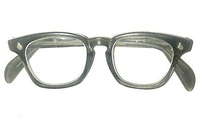 American Optical AO Vintage Safety Glasses Preowned Steampunk No Rx Clear Lenses