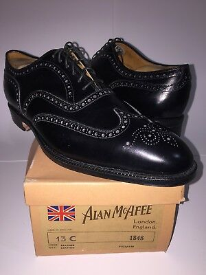 Nos Vtg Church's/ Allan Mcafee For Bullock & Jones Full Brogue Sz 13 C